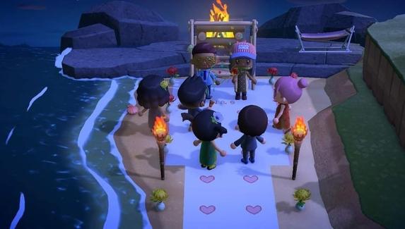 Отменённые из-за коронавируса свадьбу и выпускной провели в Animal Crossing: New Horizons