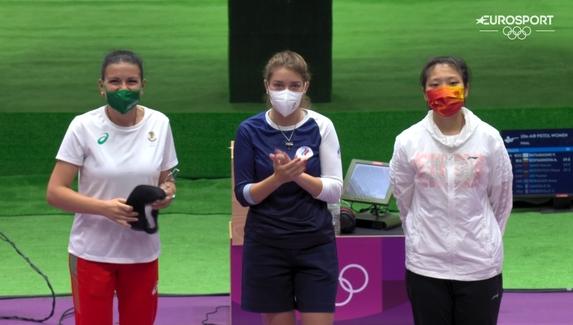 Россиянка Виталина Бацарашкина использовала амулет из «Ведьмака» в качестве талисмана на Олимпийских играх в Токио