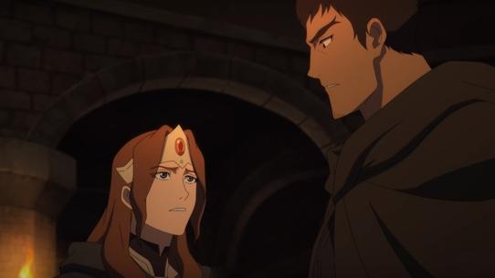 Лайтовая рецензия на аниме-сериал «DOTA: кровь дракона» на Netflix
