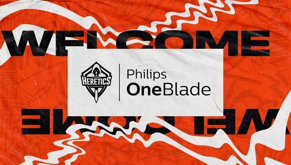 Team Heretics и бренд Philips стали партнерами