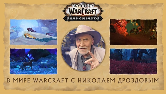 «В мире Warcraft» с Николаем Дроздовым — телеведущий рассказал о дополнении Shadowlands