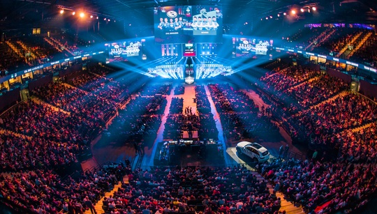 Groups for ESL One Hamburg released