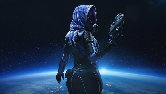 Тали'Зора из Mass Effect — косплей на соратницу Шепарда