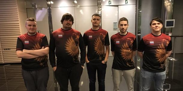 Team Russia на европейском финале WESG