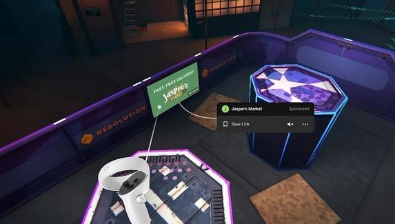 Facebook начала тестирование рекламы в VR-играх для Oculus