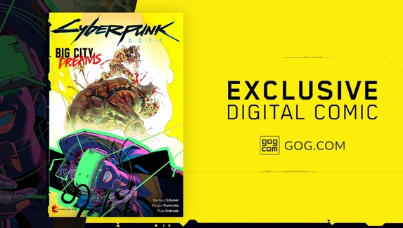 Пользователям GOG подарят комикс за предзаказ Cyberpunk 2077
