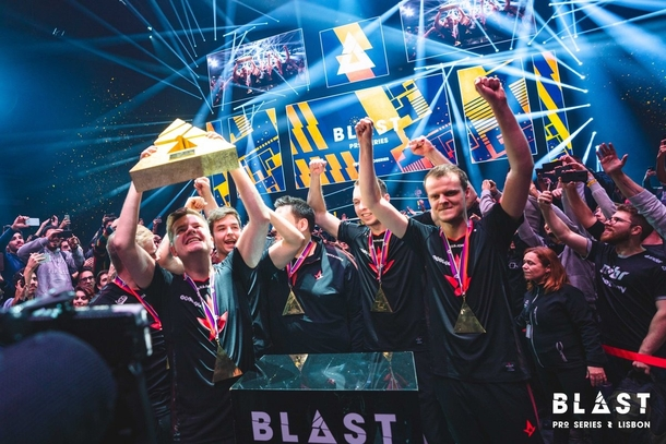 Astralis после финала BLAST Pro Series Lisbon