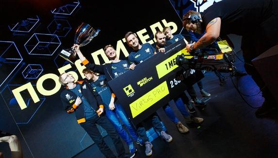 Parimatch League победила в киберспортивной номинации на MARSPO Awards 2020