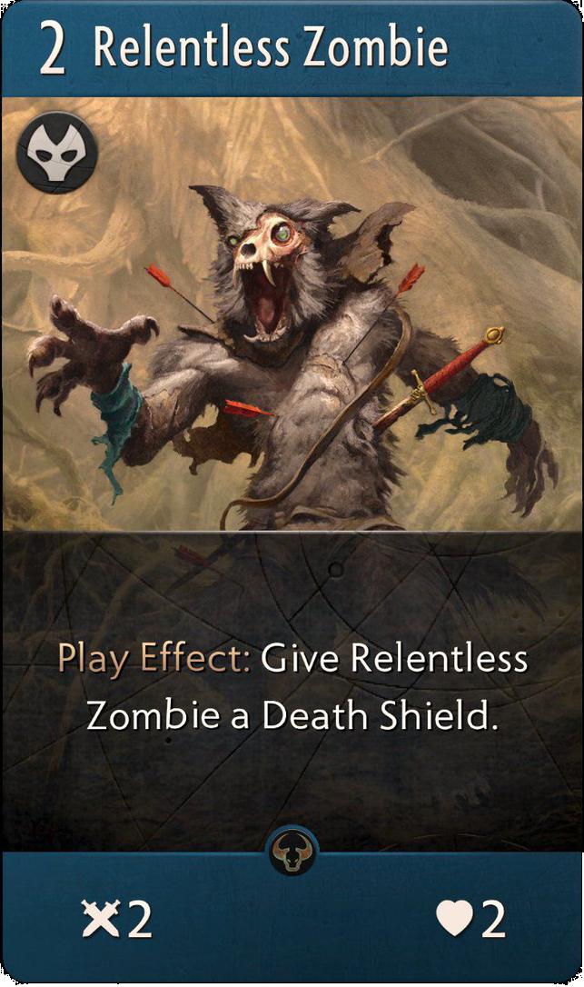 Relentless Zombie