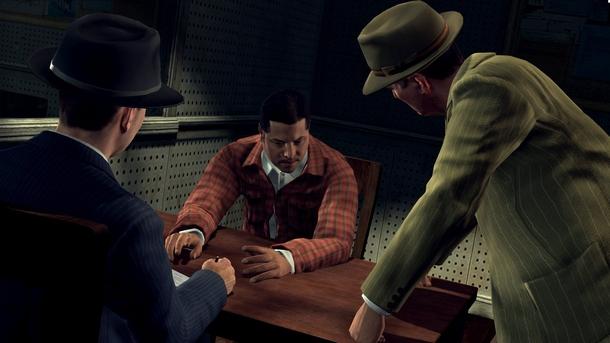 Допрос в L.A. Noire