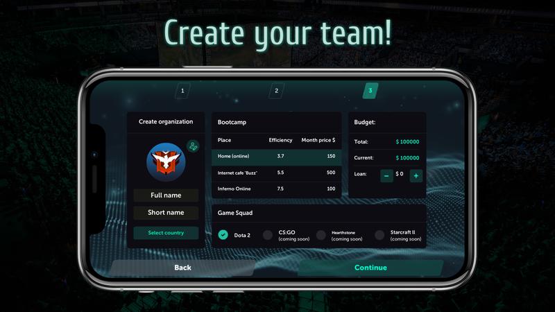 Esports Manager 2020 | Источник: reddit.com/r/dota2