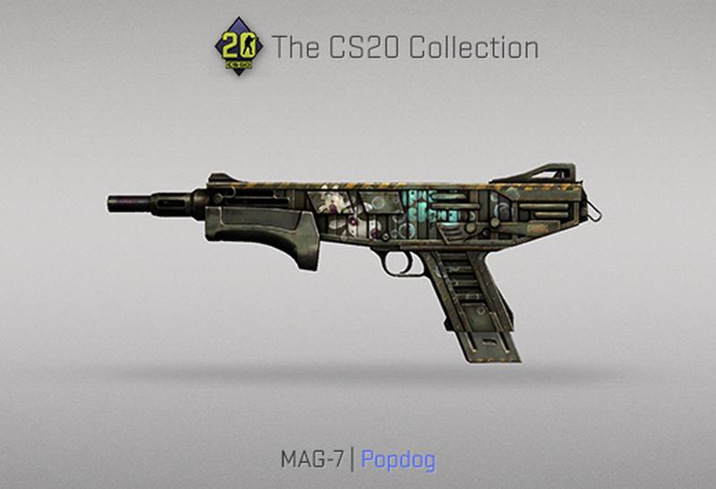 Скин на MAG-7 | Источник: blog.counter-strike.net