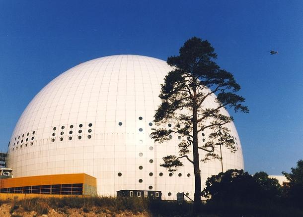 Арена в 1988 году.