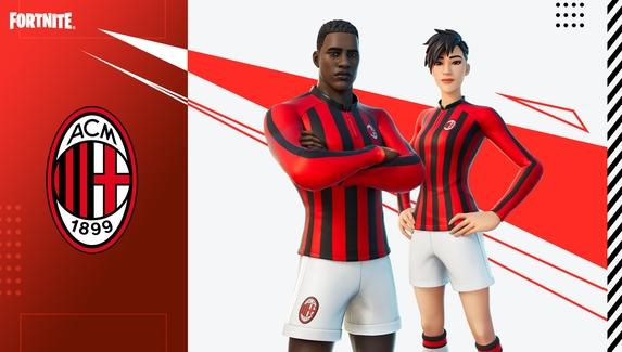 На ближайшем матче ФК «Милан» зрителями станут фигурки из Fortnite