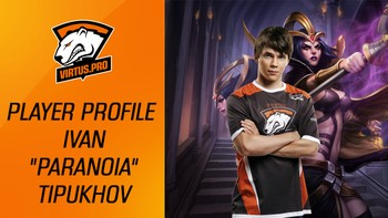 Player Profile. Virtus.pro Paranoia