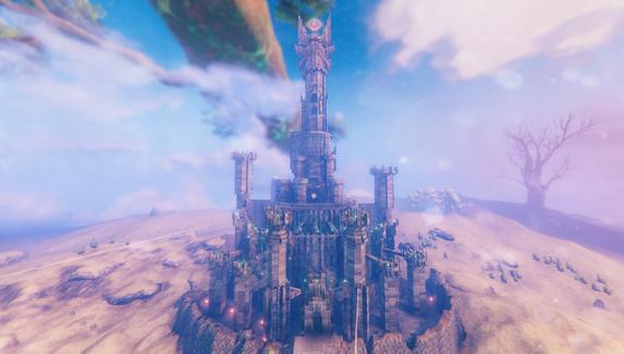 В Valheim построили башню Саурона