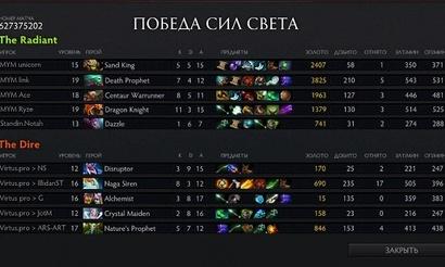 The Summit: Нага не помогла Virtus.pro победить