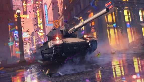 В World of Tanks Blitz улучшили графику и добавили новую ветку британских лёгких танков