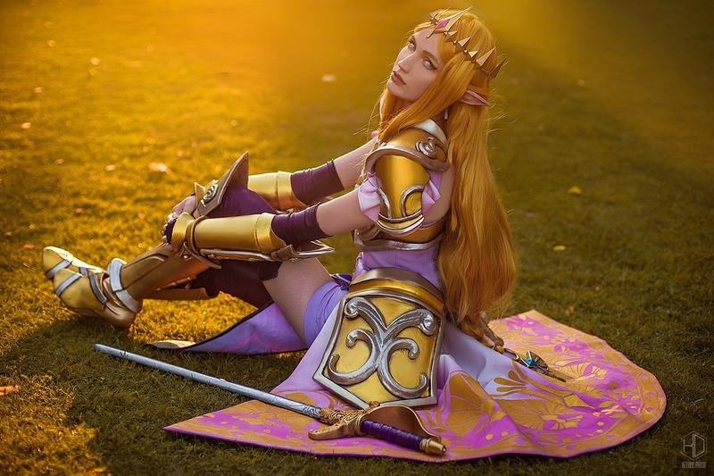 Princess Zelda. Косплеер: Екатерина Полыгалова. Фотограф: Александра Станкевич. Источник: vk.com/cosplay.world