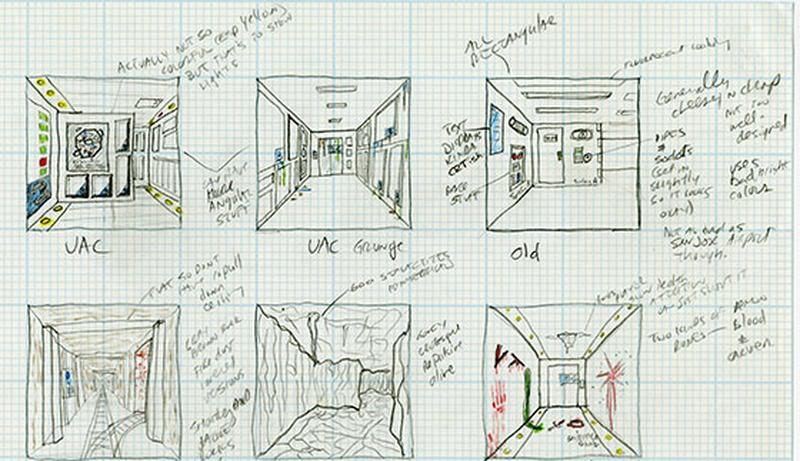 Некоторые механики и виды карт, нарисованные Томом Холлом