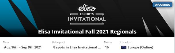 Elisa Invitational Fall 2021