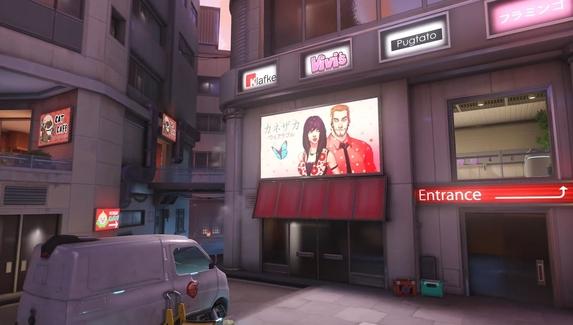 В Overwatch выйдет новая карта — с кошачьим кафе и ночным клубом
