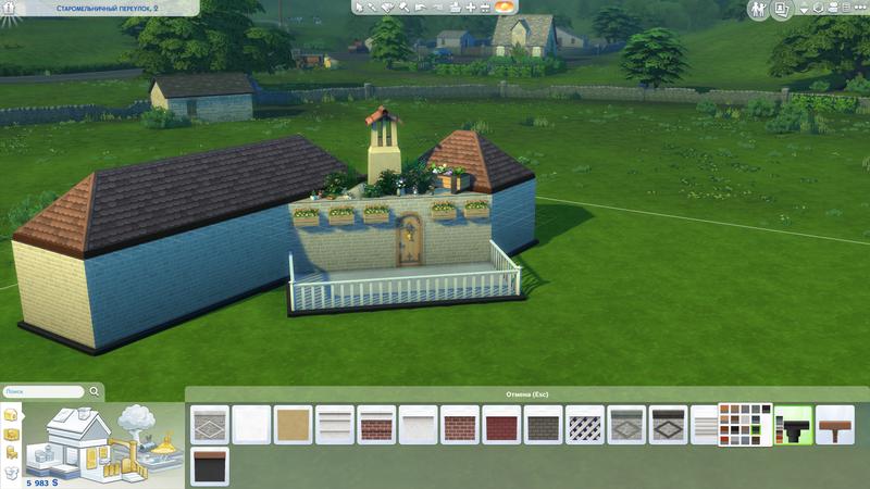 Моя первая попытка создать деревенский дом   The Sims 4, «Загородная жизнь»