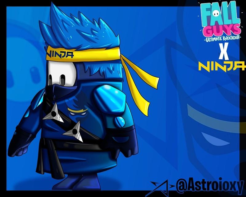 Костюм Ninja. Источник: твиттер Ninja