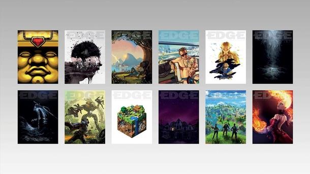 Обложки 339-го номера журнала EDGE для 12 важнейших игр десятилетия по версии редакции. Источник: EDGE