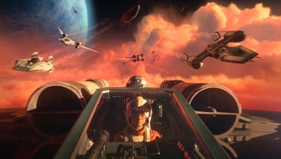 В сети появились новые геймплейные ролики Star Wars: Squadrons