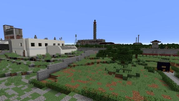 Игрок построил Чернобыльскую АЭС в Minecraft — это карта в режиме «выживание» для сталкеров