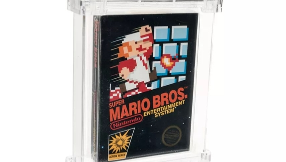Редкий картридж с Super Mario Bros. продали за ₽8 миллионов