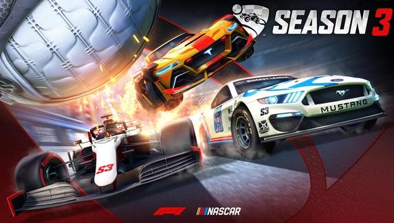 Следующий сезон Rocket League будет посвящён «Формуле-1» и NASCAR