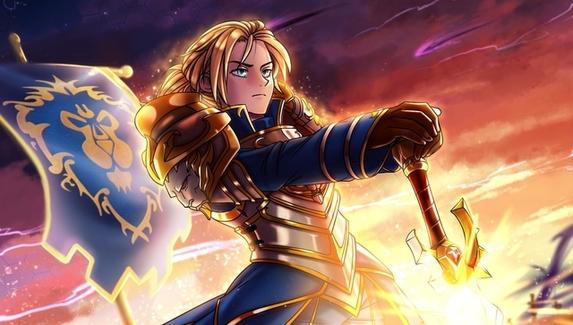 Фанаты превратили героев игр Blizzard в персонажей аниме