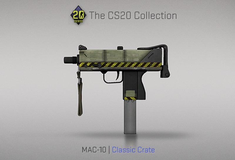 Скин на MAC-10 | Источник: blog.counter-strike.net