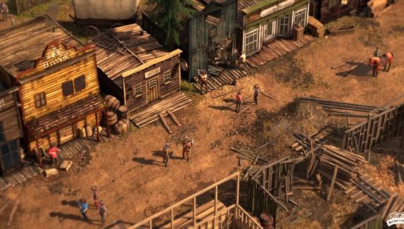 Авторы Desperados III рассказали про игровые механики вестерна — приманки, тактическую паузу и гипноз