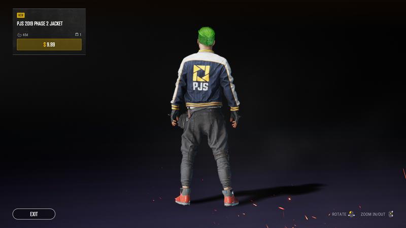 Куртка PJS