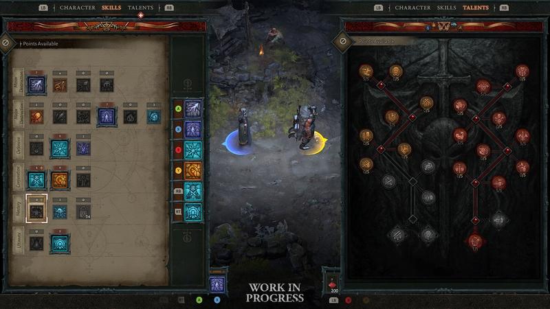 Интерфейс совместной игры. Источник: blizzard.com