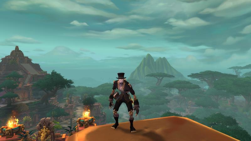 Нежить-жрец из World of Warcraft