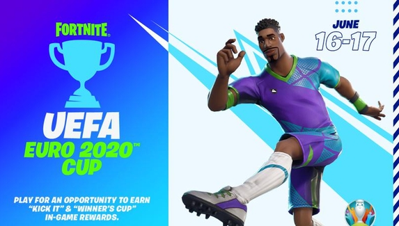 Epic Games и UEFA проведут совместный турнир по Fortnite в рамках чемпионата Европы по футболу 2020