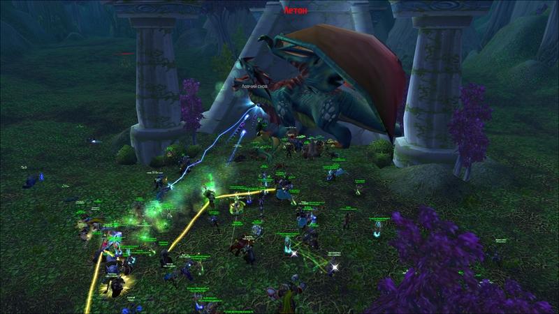 Horde Hub убивает Летона
