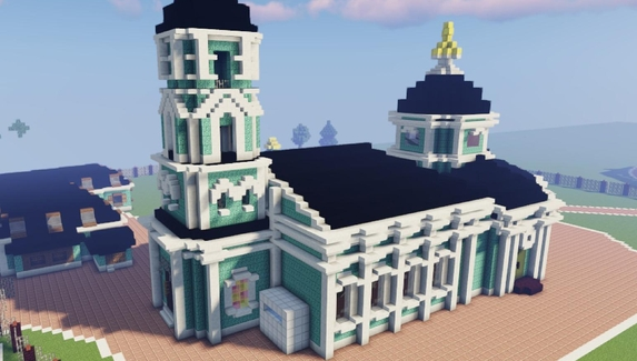 Музей «Царицыно» в Minecraft построен — желающие приглашены на виртуальную экскурсию
