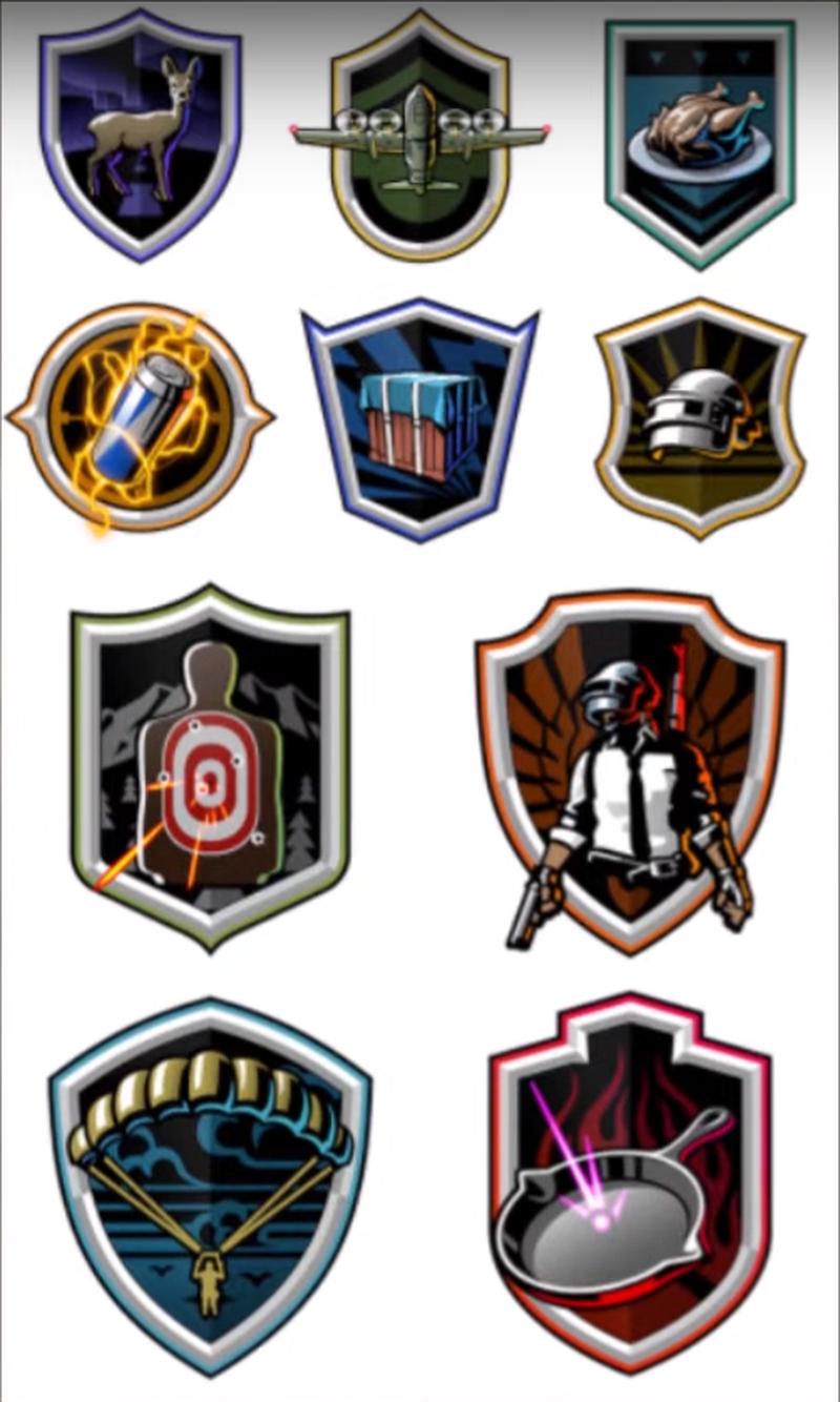 Иконки, похожие на логотипы кланов | Источник: канал PlayerIGN на YouTube