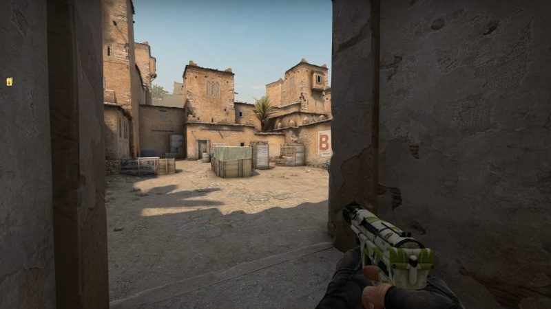 Familiar sight? Time to bring back the Tec-9 rush B - the weapon will excel if utility is used well
