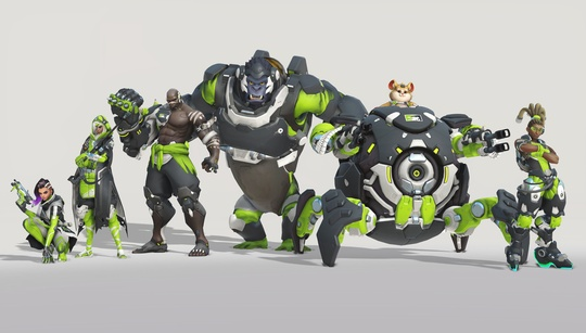 Overwatch Contenders get their own home and away skins