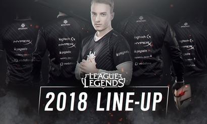 G2 Esports представила состав на сезон