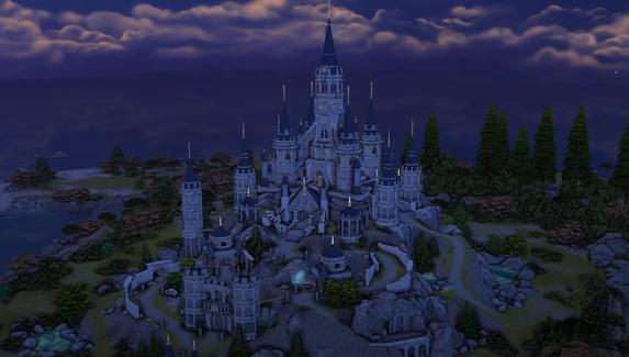 Девушка построила замок из «Зельды» в The Sims 4 без модов